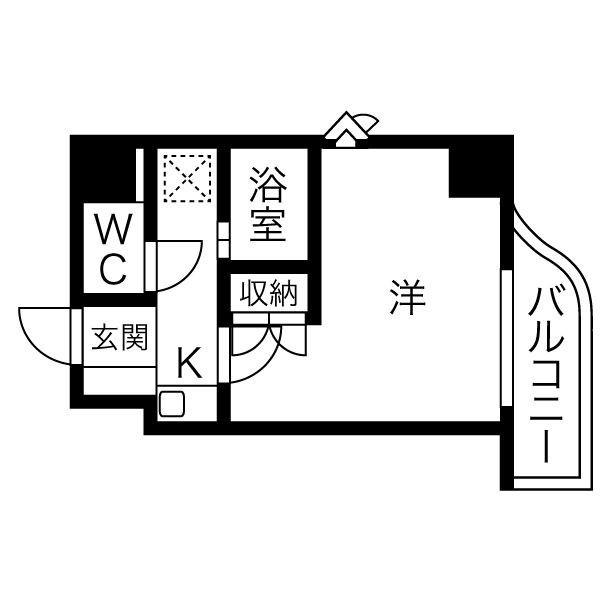 愛知県の株式会社ワンダーライフのウィークリーマンション・マンスリーマンション「HIKURASHI金山駅前 Atype(No.314196)」メイン画像