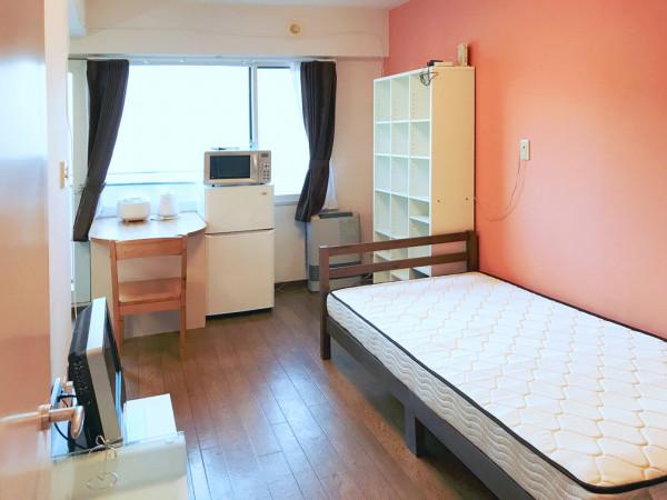 北海道札幌市北区のマンスリーマンション・ウィークリーマンション「スーパーマンスリーN17」メイン画像