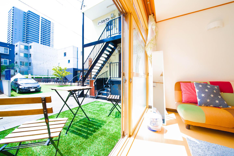 【一戸建て/札幌駅徒歩7分】貸切プラン。1台駐車可能!最大6名。トイレ2つ