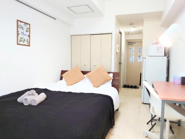 札幌市の家具家電付きマンスリーマンション「メゾン・ド・グルー 1K(No.322554)」メイン画像