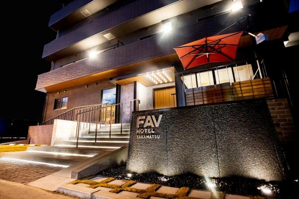 日本全国のウィークリーマンション・マンスリーマンション「FAV HOTEL TAKAMATSU 5~10F・クイーン・ツイン(No.328944)」メイン画像