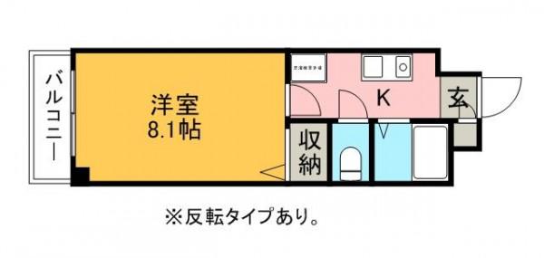 愛知県の株式会社ワンダーライフのウィークリーマンション・マンスリーマンション「HIKURASHI勝川Ⅱ Atype(No.338287)」メイン画像