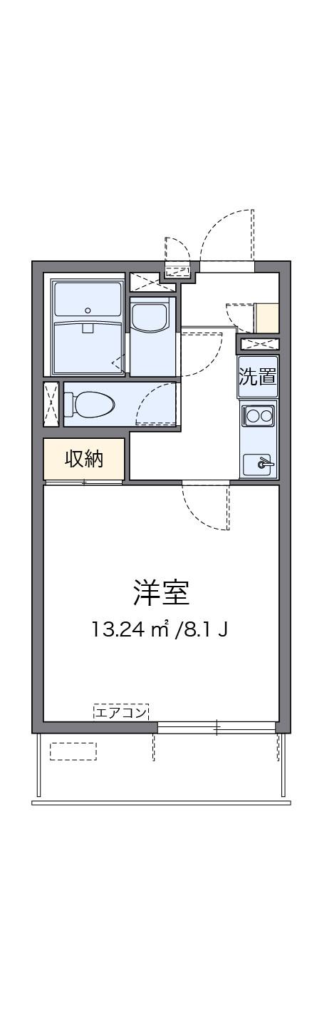 「クレイノセイ柴島」間取図画像