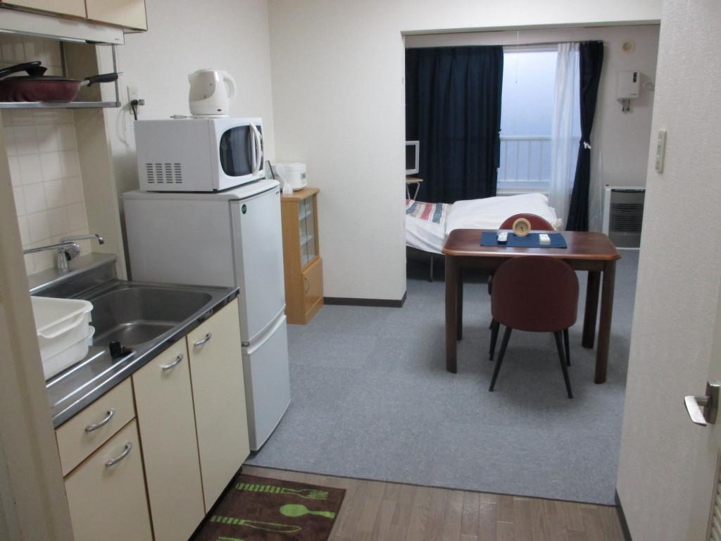 北海道札幌市厚別区のウィークリーマンション・マンスリーマンション「ロアール厚別東 お部屋の清掃・除菌にはアルコールを使用しています。 1R(No.343)」メイン画像