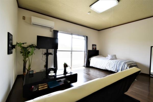 大分県大分市の家具家電付きマンスリーマンション「Kマンスリー南大分駅南」メイン画像