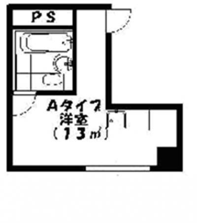 「☆キャンペーン中☆【マンスリー日本橋】1日/¥3,000コミコミ♪」間取図画像