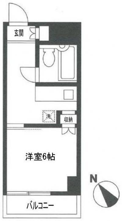 「マンスリー町田」間取図画像