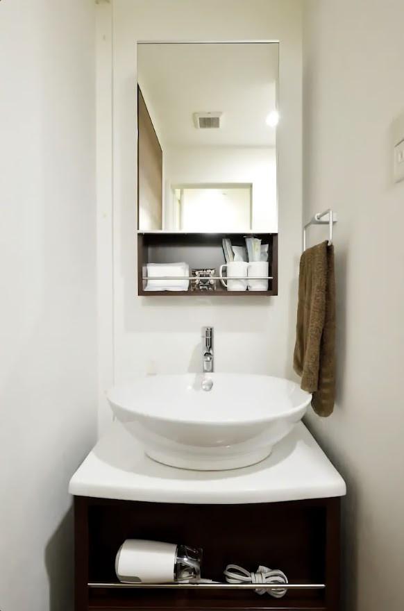 独立洗面台であり、男性・女性問わず人気の設備です♪