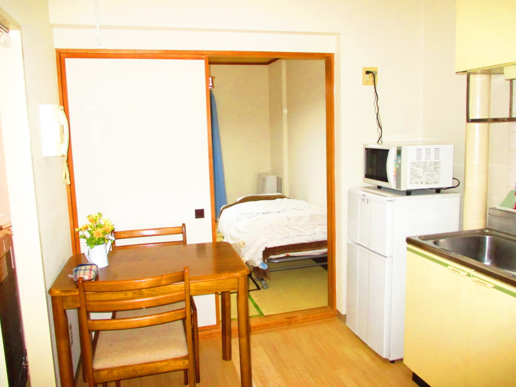 日本全国のウィークリーマンション・マンスリーマンション「ハウスオブリザ中の島Ⅱ お部屋の清掃・除菌にはアルコールを使用しています。 1DK(No.361)」メイン画像