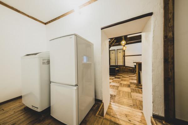 共用冷蔵庫・洗濯乾燥機
