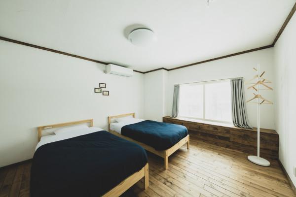 北海道のウィークリーマンション・マンスリーマンション「OTARU TAP ROOM【JR小樽駅から徒歩7分】 ツインルーム(No.365290)」メイン画像