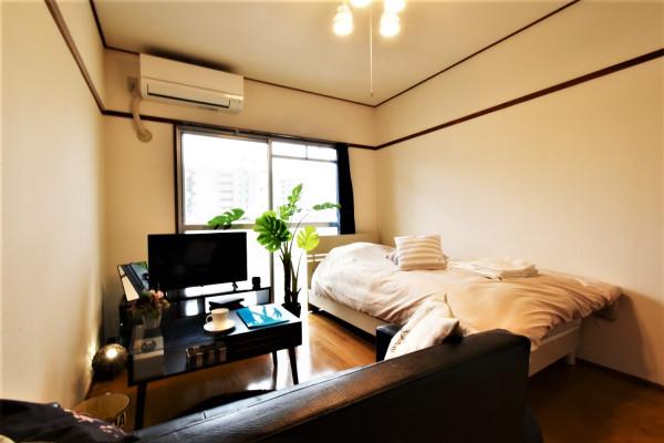 大分県大分市の家具家電付きマンスリーマンション「Kマンスリー大手町」メイン画像