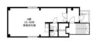 「レンタルハウス 加瀬ビル174」間取図画像