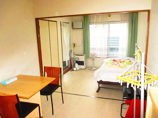 北海道のウィークリーマンション・マンスリーマンション「1ヶ月総額50,000円!パークサイドクリスタル お部屋の清掃・除菌には次亜塩素酸水とアルコールを使用しています。 1K」メイン画像