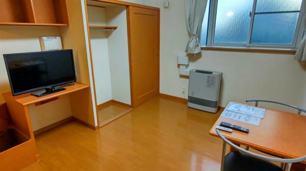 北海道千歳市のウィークリーマンション・マンスリーマンション「レオパレスノースヒルB 105(No.387715)」メイン画像