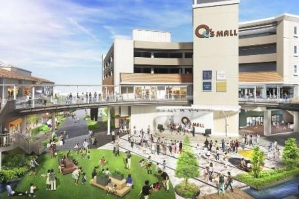 大型ショッピングモールも徒歩圏内です