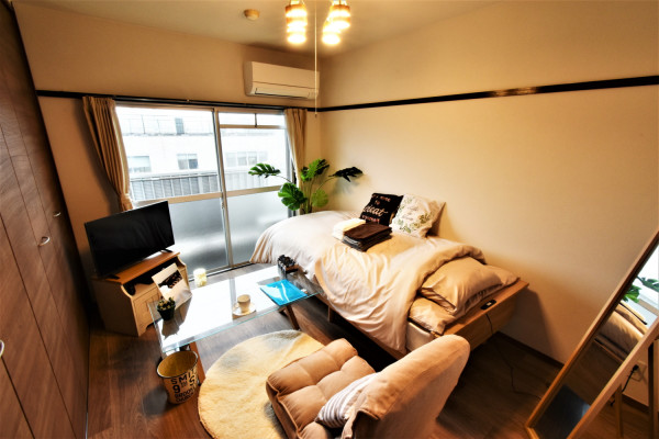 大分県大分市の家具家電付きマンスリーマンション「KマンスリーJR牧西」メイン画像