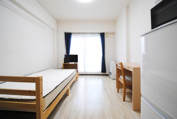 北海道の家具家電付きマンスリーマンション「ノースステイ北16条 406・1K(No.396991)」メイン画像