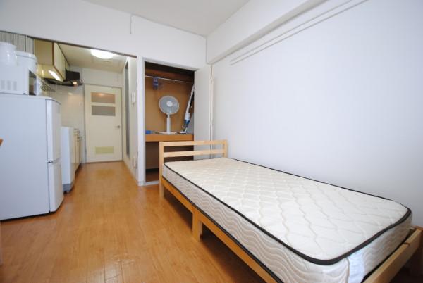 北海道の家具家電付きマンスリーマンション「ノースステイ北16条 408・1K(No.396992)」メイン画像