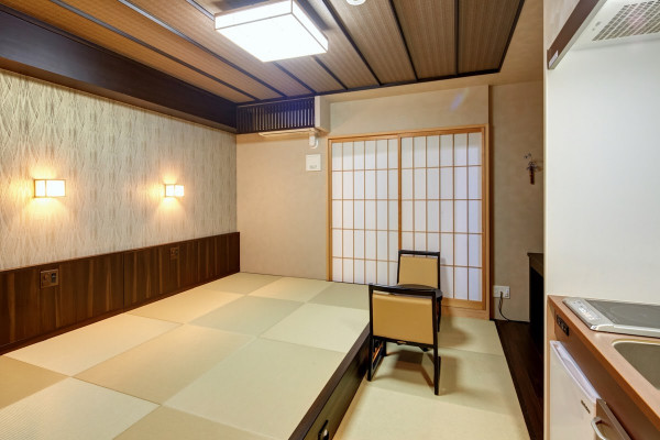 こちらは和風づくりのお部屋です♪