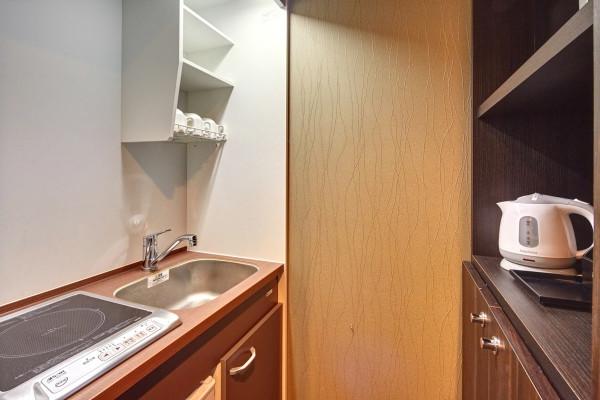 キッチンも最新設備です♪