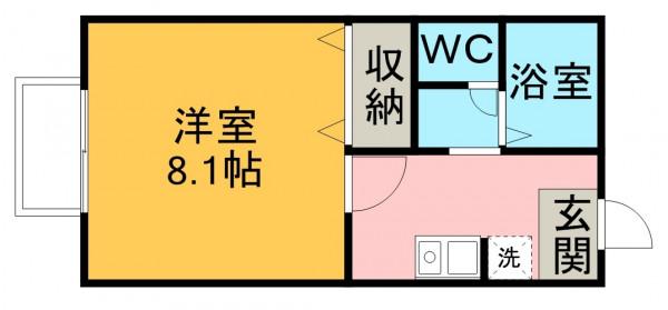 愛知県のウィークリーマンション・マンスリーマンション「HIKURASHI出川町 203・Atype(No.419721)」メイン画像