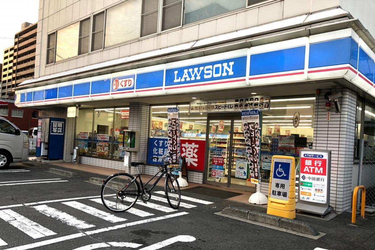 ローソン岡山厚生町一丁目店まで徒歩5分、350m。