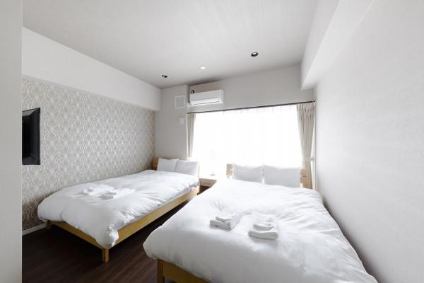 大阪の家具家電付きウィークリーマンション「ホテル弁天町 1001(No.430048)」メイン画像