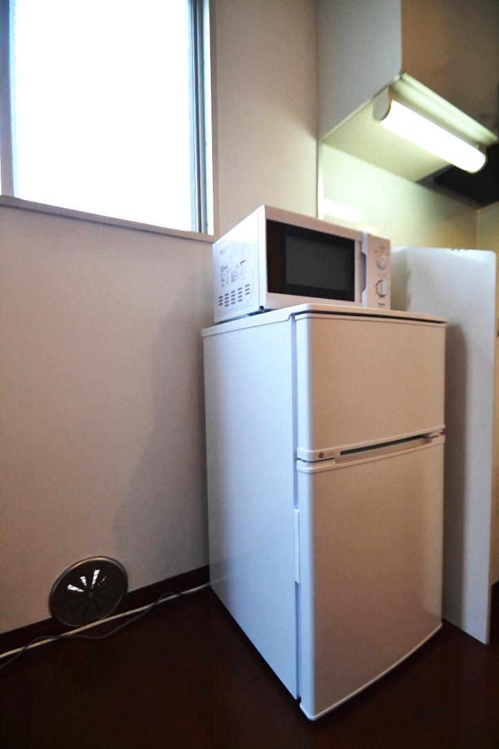 冷蔵庫・電子レンジ・炊飯器など家電も充実しております。