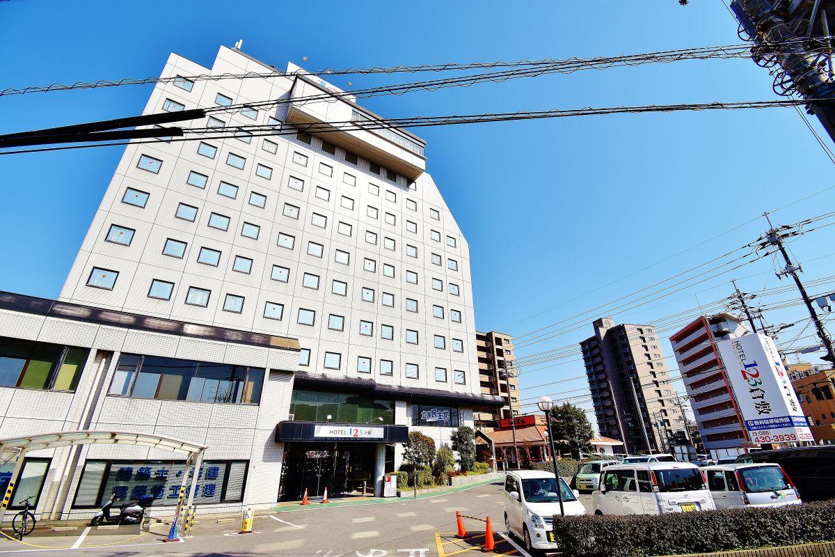 ホテル1-2-3倉敷まで徒歩5分、400m。