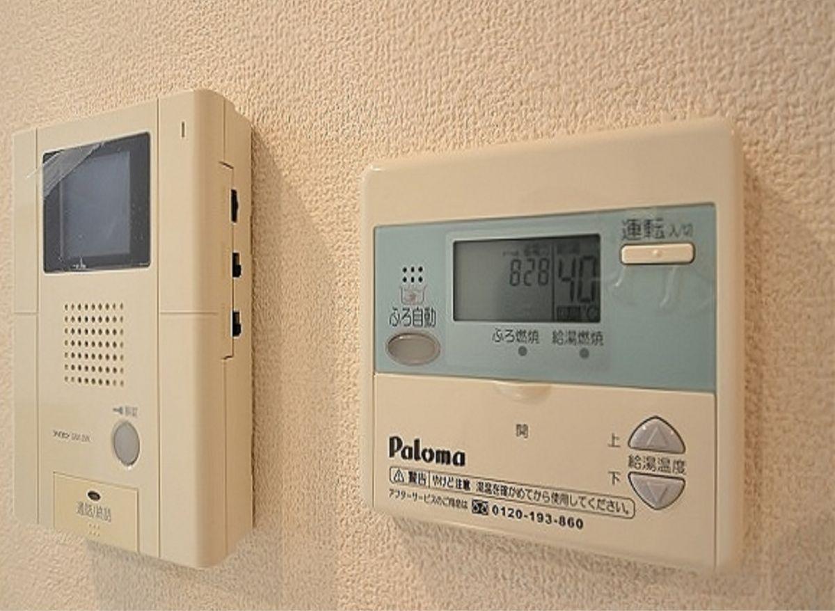 Kマンスリー岡山表町【岡山駅前】は、オートロック、モニターフォン、温度調節機能付き。