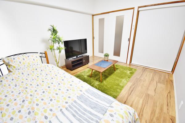 岡山県岡山市北区の家具付き賃貸「KsB大供」メイン画像