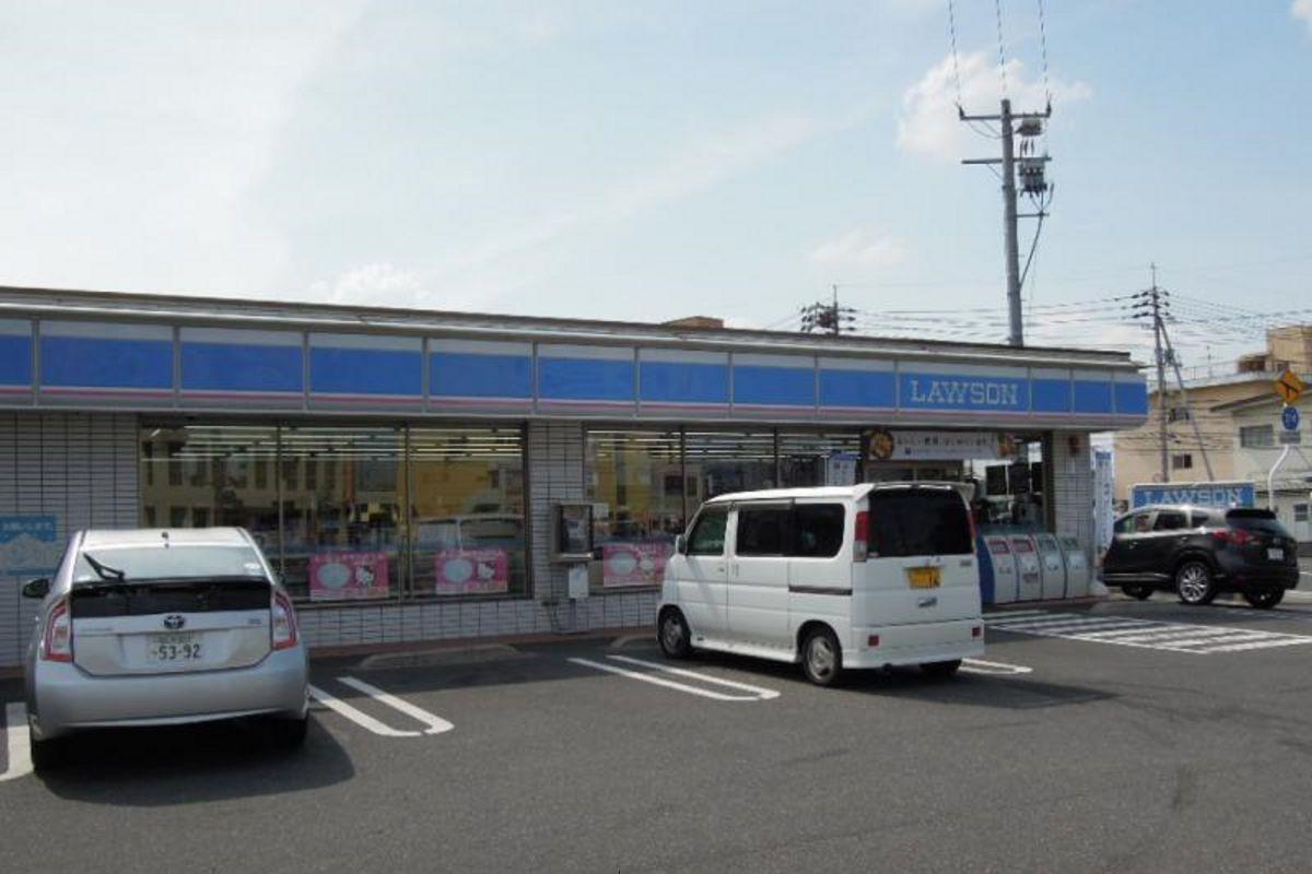 ローソン岡山泉田店まで徒歩8分、600m。