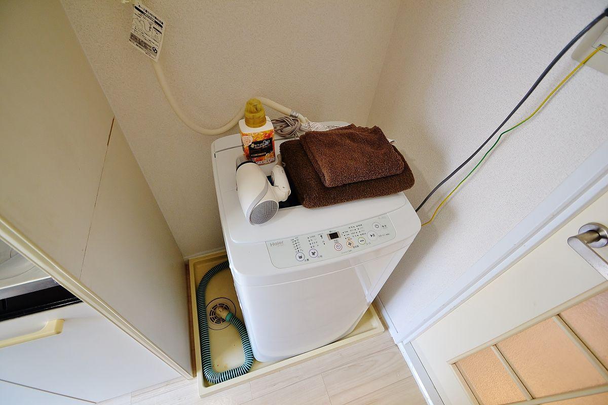 洗濯機・洗濯用洗剤やタオルもご用意しております!パラソルハンガーもございますので部屋干しすることが出来ます^^女性にも安心ですね!生活するうえで必要なものは基本ご用意しておりますので、特別ご用意していただくものはございません。空室確認やお問合せはぜひ086-250-2433までご連絡下さい♪