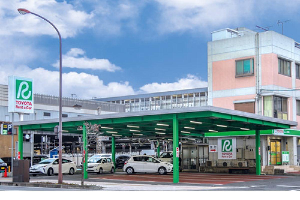トヨタレンタリース岡山岡山駅西口店まで徒歩4分、300m。ビジネス、観光に抜群の立地。岡山人気ウィークリーマンション。