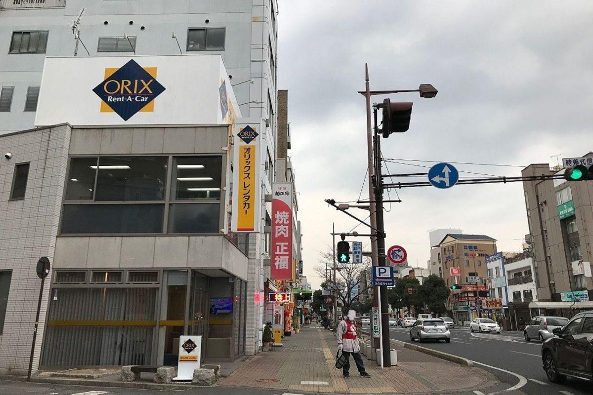 オリックスレンタカー 岡山駅西口店徒歩5分、400m。7日以上の中期・長期出張の方も大歓迎です☺