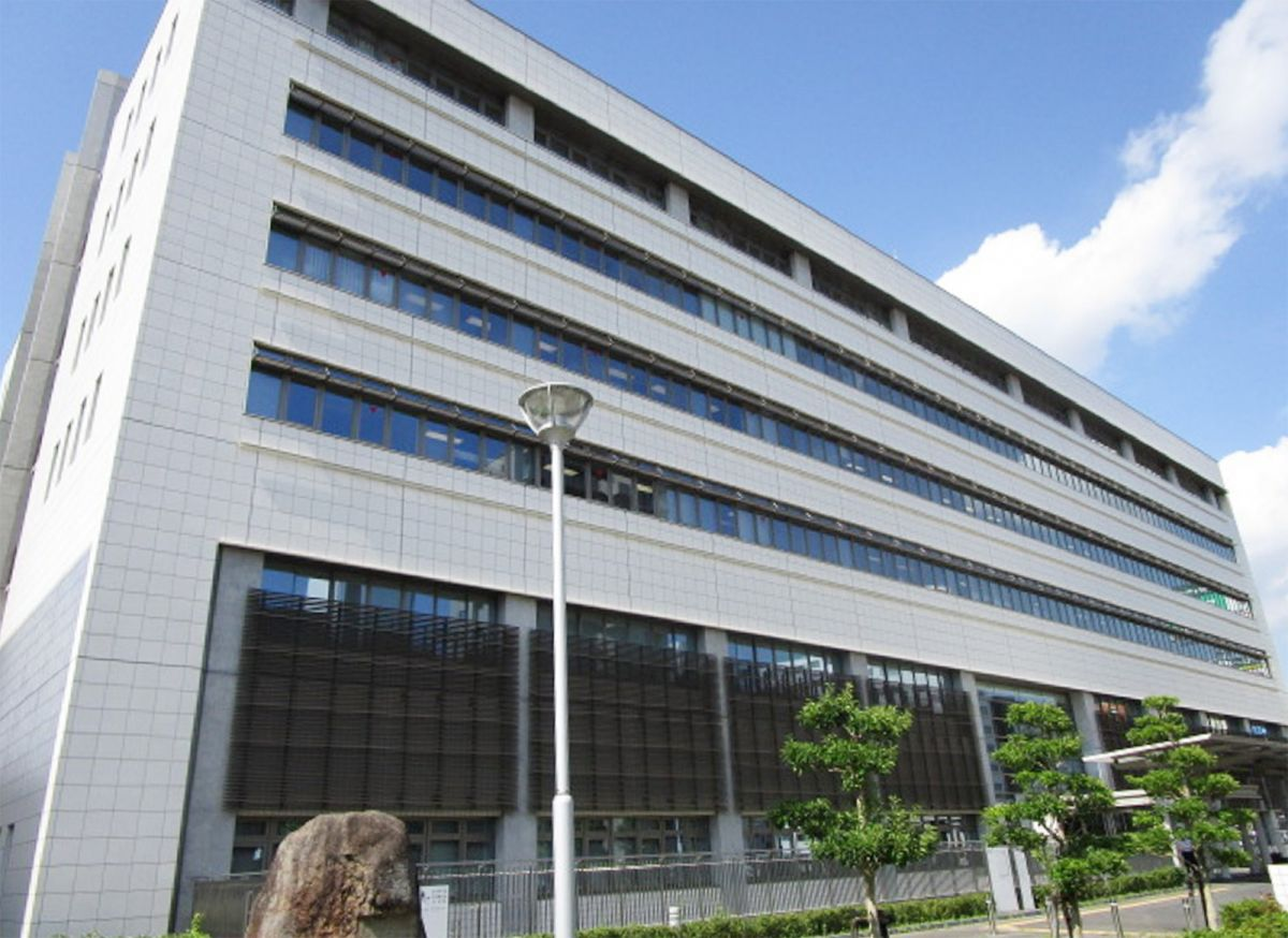 岡山地方裁判所まで徒歩20分、1.6km。