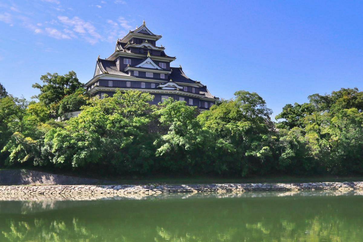 岡山県庁まで徒歩3分、210m。