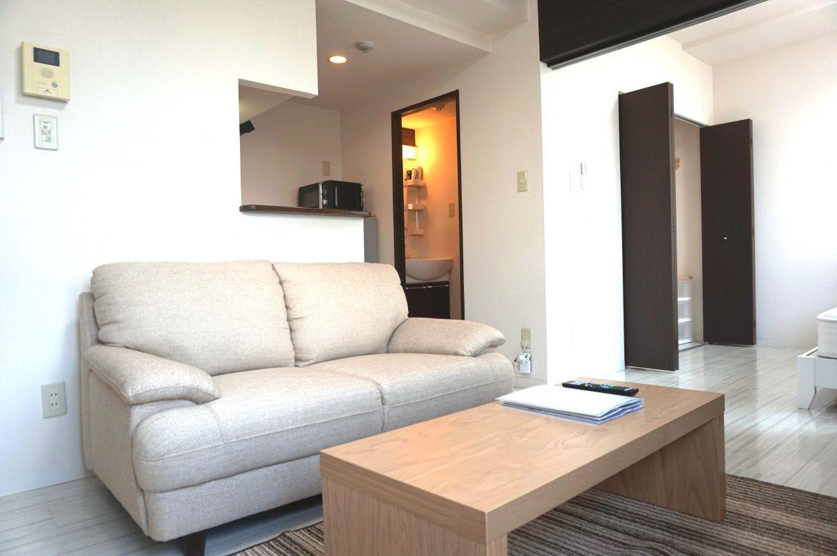 札幌の家具家電付きマンスリーマンション「ノールテラスTI 303・1LDK(No.63551)」メイン画像