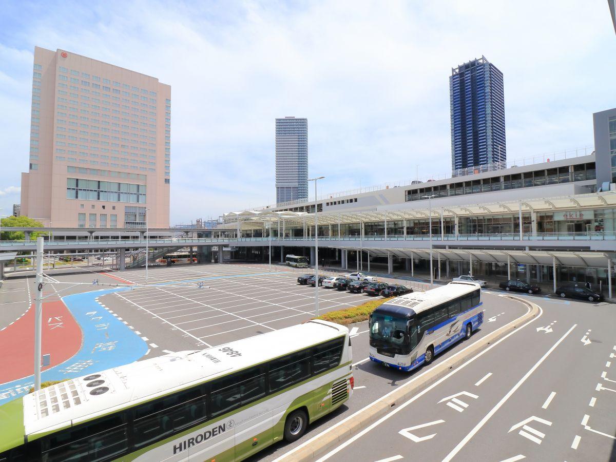 広島駅北口(新幹線口) 徒歩8分