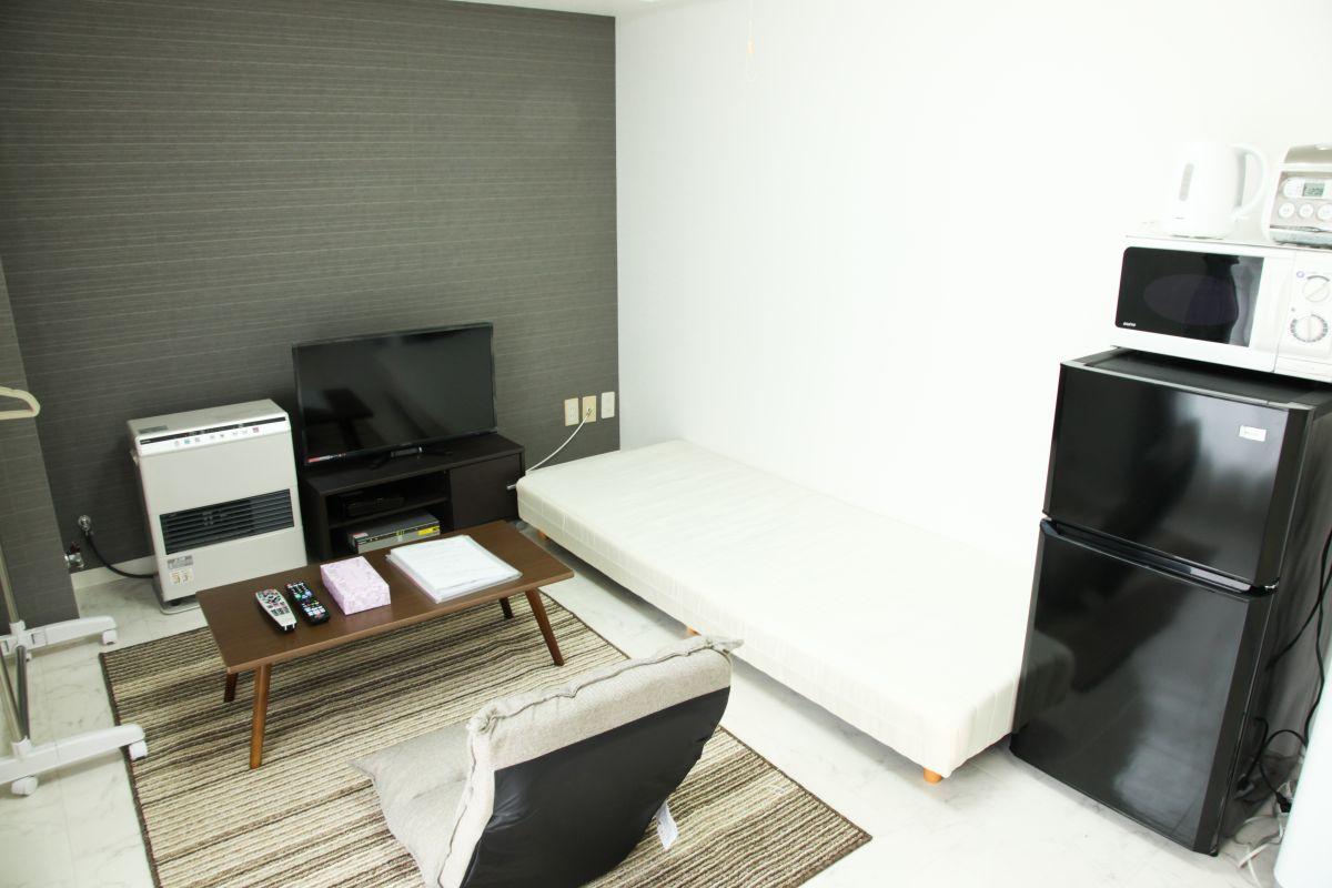 札幌の家具家電付きマンスリーマンション「ノールテラス北11条 201・1K(No.63568)」メイン画像