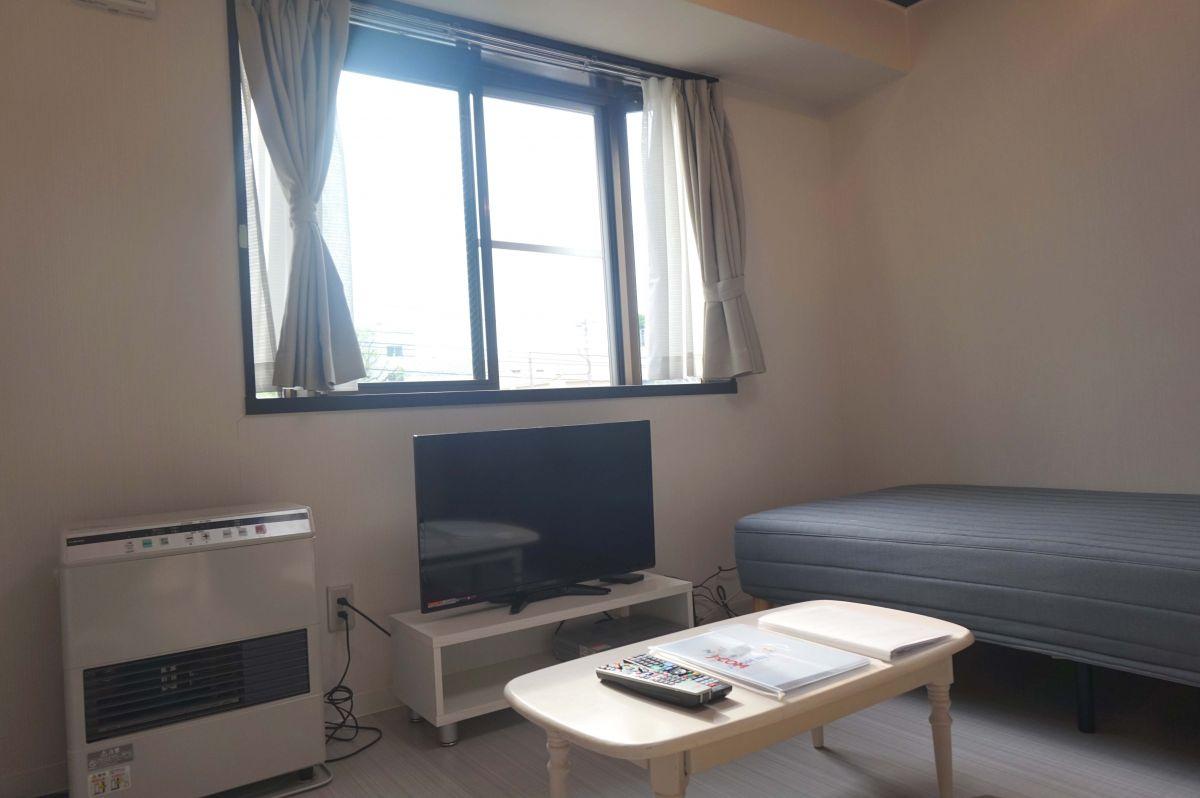 札幌の家具家電付きマンスリーマンション「ノールテラス北11条 203・1K(No.63569)」メイン画像