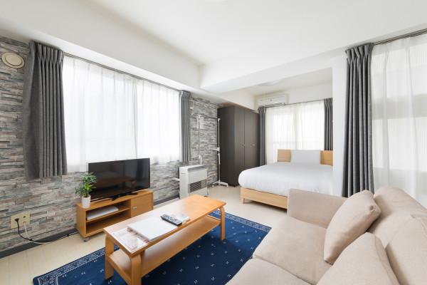 北海道札幌市中央区のウィークリーマンション「ノールテラスPI 701・1K(No.63577)」メイン画像
