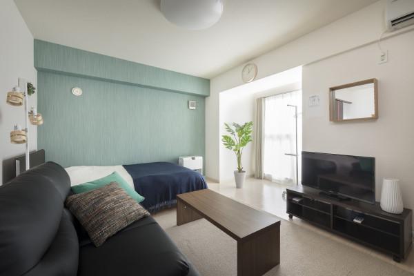 札幌の家具家電付きマンスリーマンション「ノールテラスPI 902・1K(No.63584)」メイン画像