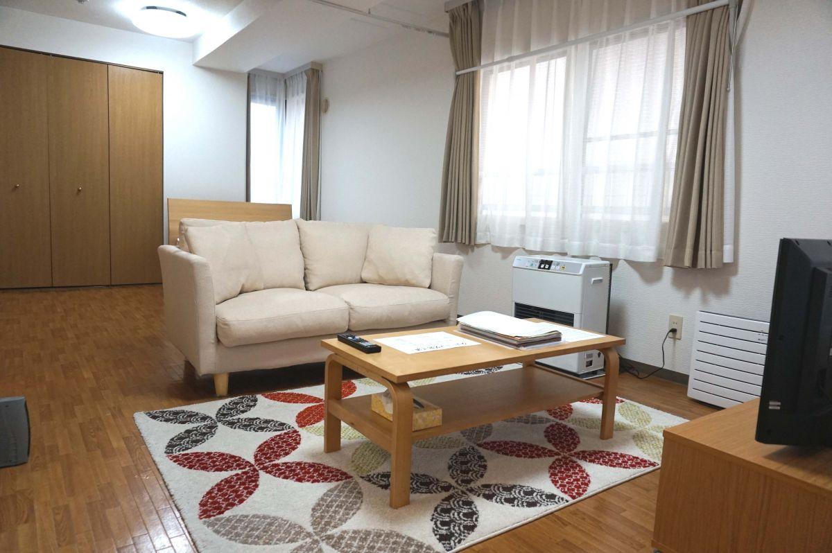 バスセンター前駅(札幌市東西線)の家具家電付きマンスリーマンション「ノールテラス南2条 1LDK」メイン画像