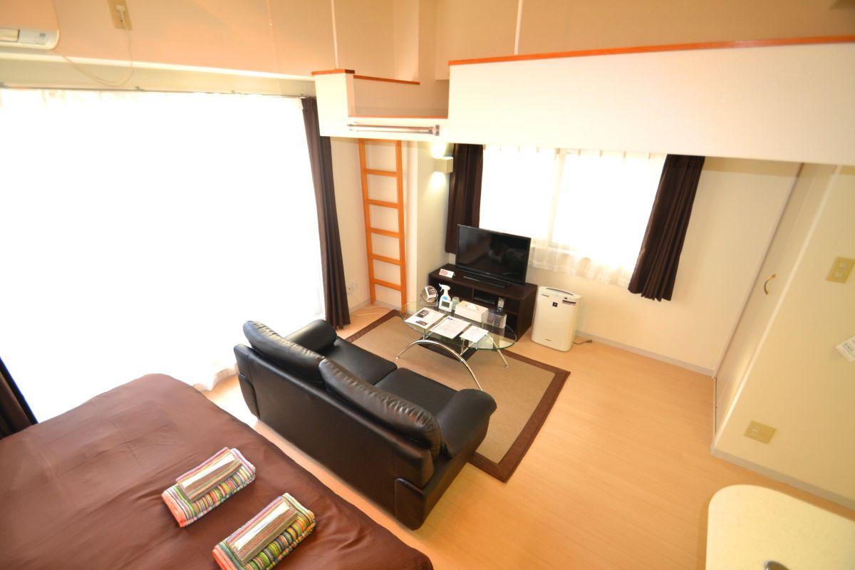 広島県の家具付き賃貸「グランドポレストーネ竹屋」メイン画像