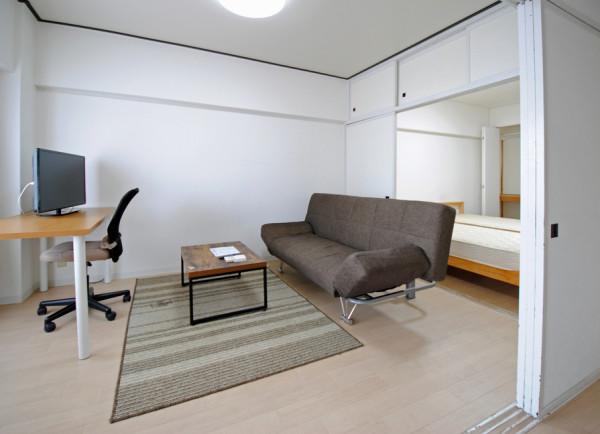 さっぽろ駅(札幌市南北線)のウィークリーマンション・マンスリーマンション「ノースステイN13条 810・2DK(No.78)」メイン画像