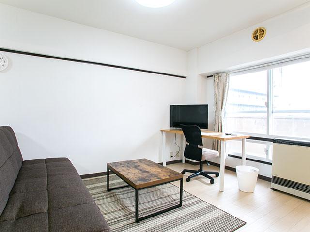 北海道札幌市北区のマンスリーマンション・ウィークリーマンション「ノースステイN13条」メイン画像